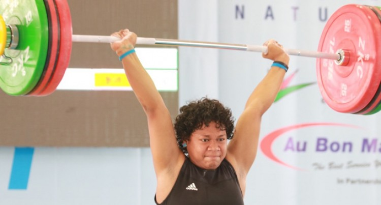 Star Weightlifter Heads Back To Noumea