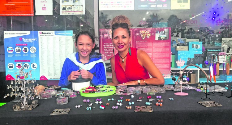 Renate, 10, Thrives On Girl Jewellery Trade