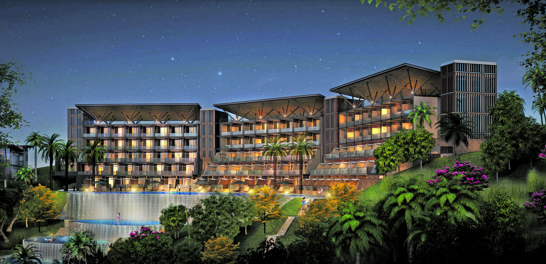 Artist's impression of the planned Wyndhm Silkroad Ark Hotel.