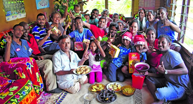 Physically Challenged Dad Follows Tradition of Hosting Family And Friends