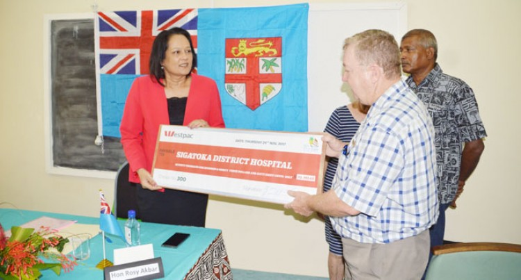 $70,193 Boost For Sigatoka Hospital