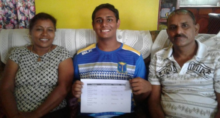 Natabua High  Year 12  Scholar Scores 385