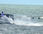 Seaplane Sinks During Take-off Attempt
