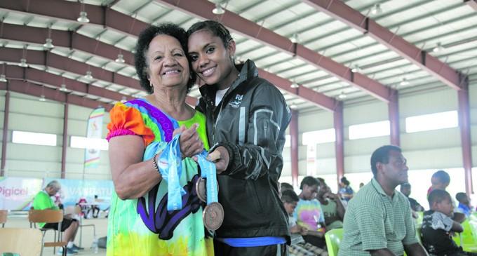 Win For Daughter, Grandmum