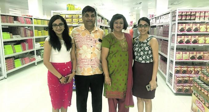 Charan Jeath Opens His Nabua Supermarket