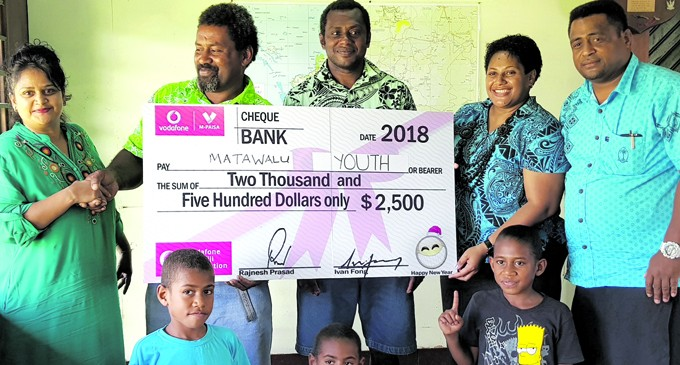 Vodafone Hands Out Grants to Youth and Women's Clubs