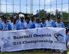 Fijian Baseball U15 Win Bronze