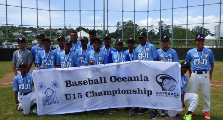 Fijian Baseball U15 Win Bronze