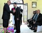 Outgoing Korean envoy receives Order of Fiji Award