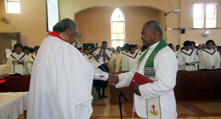 Reverend Tuiwai Ordained As  Divisional Superintendent Of Suva