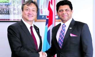 A-G, Japanese Vice-Minister Meet to Talk Greater Development Cooperation