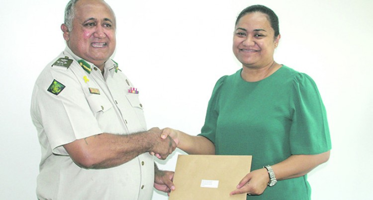 Fiji Corrections Service Gives Back To Govt
