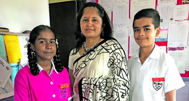 Headboy, headgirl share discipline bond