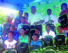 Bank gives school bags, stationery to needy children