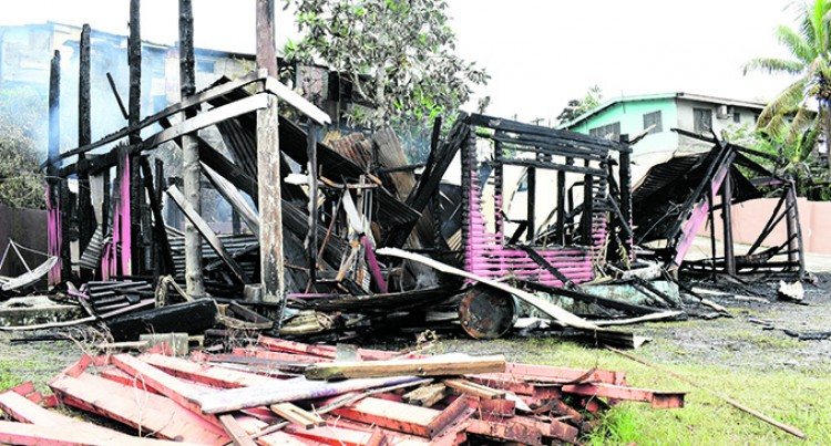 Tragedy Struck for Morells Who  Lose All In Nakasi House Fire