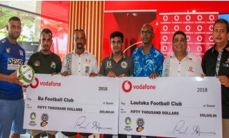 Vodafone backs Lautoka, Ba
