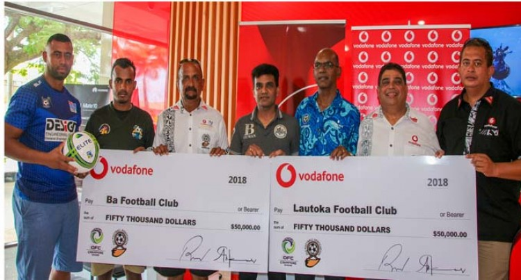 Vodafone backs Lautoka, Ba