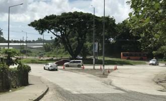 Nabua roundabout open to traffic