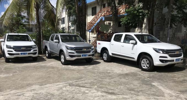 UNDP Donates Vehicles To Speed Up Ridge To Reef Project