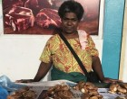 Increased demand for Tahitian chest nuts makes vendor happy