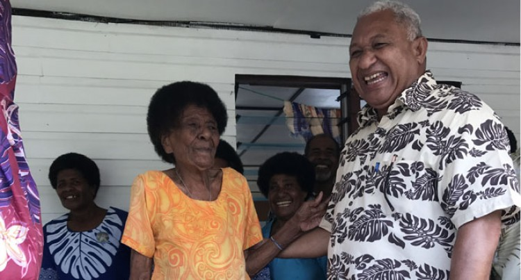 Wati, Of Natokalau, Thanks God For Clean Water As PM Opens Boreholes In Bua