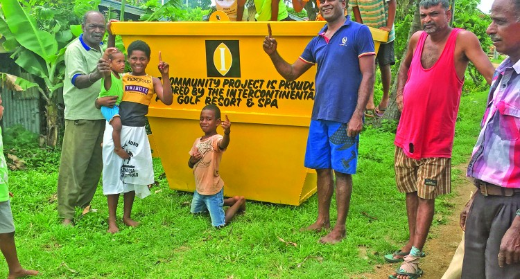Resort Assists in Keeping Picnic Spot Clean