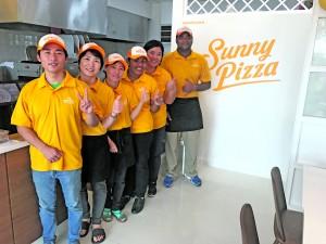 Staff of Sunny Pizza at Kundan Village, Princes Road, Tamavua.  Photo: Maraia Vula