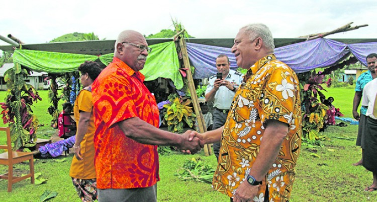 PM Meets Rabuka At Drekeniwai