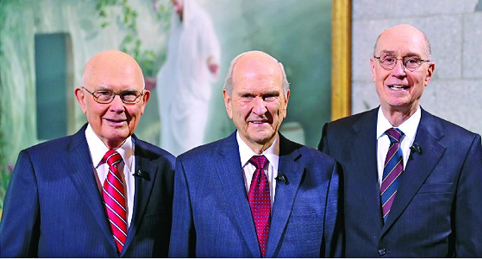 LDS Church Has New World Leader