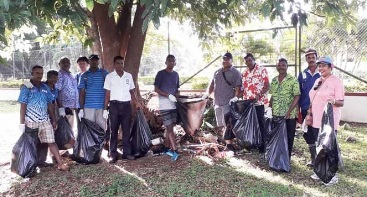 Council workers beautify Labasa