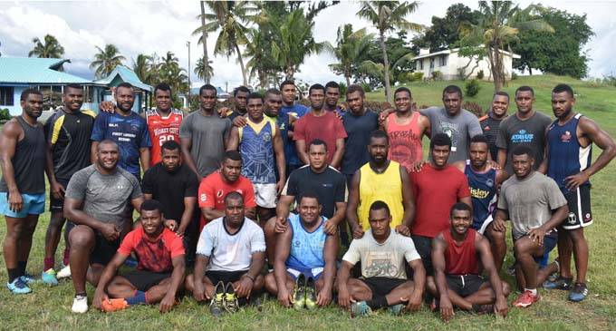 Nadi Rugby 10s team on January 10, 2018. Photo: Waisea Nasokia