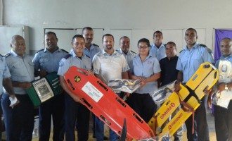 New Ambulance Equipment, Boost For Firefighters