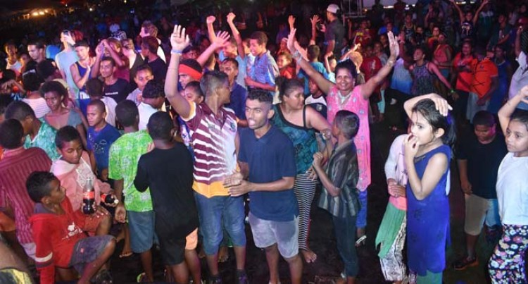 Rain Fails to Dampen Spirits at Nadi Street Party