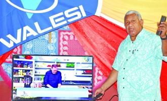 Walesi Brings Cheers To Taveuni Homes