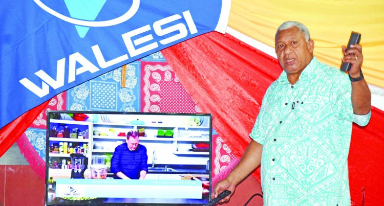 Walesi Brings Cheers To Taveuni Homes