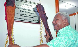 Marine Safety Boost For Taveuni