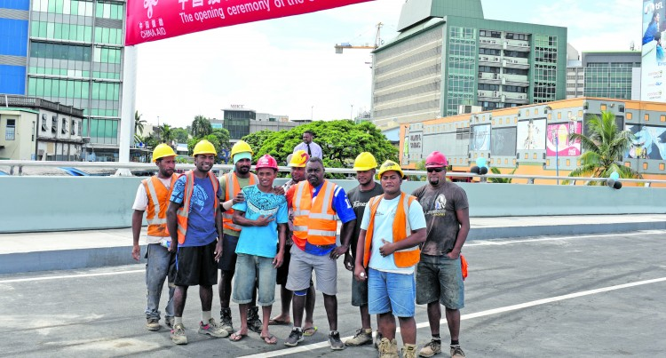 Fijian Workers Acknowledged by Chinese Govt