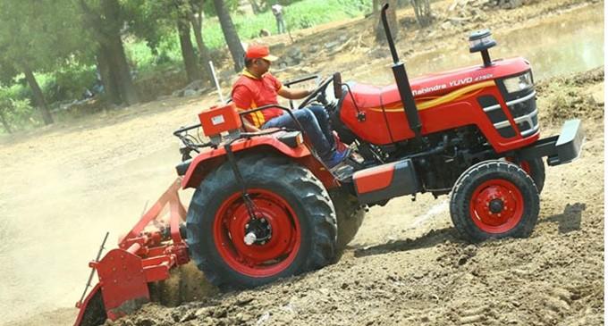 Mahindra  Tractors – Farmer's Hard Working Companion
