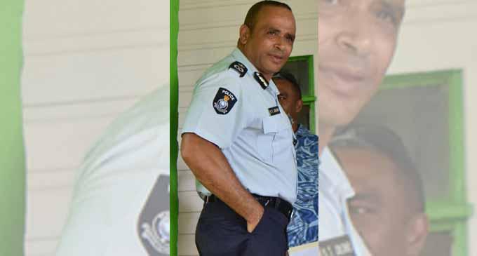 Police Commissioner Brigadier-General Sitiveni Qiliho at Naulumatua House in Bua on January 22, 2018. Photo: Shratika Naidu