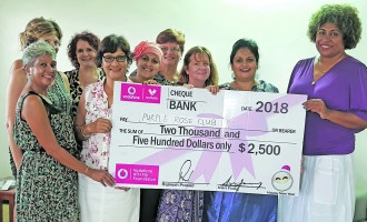 Vodafone ATH Fiji Foundation Bolsters Purple Rose Projects