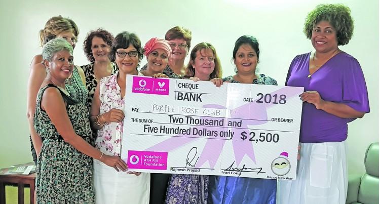 Vodafone ATH Fiji Foundation Bolsters Purple Rose Projects