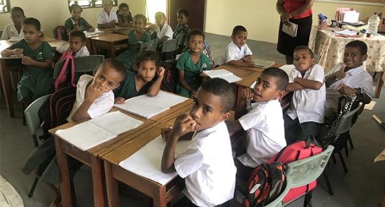 Teacher Praises Govt  for New Classrooms