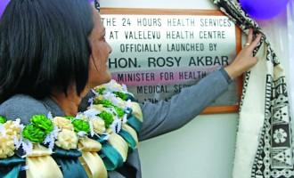 Valelevu Health Centre  Now Open 24 Hours