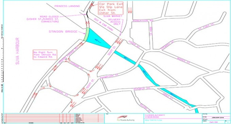 Slip lane Is The Main Usher Street Exit And Must Be Clear At All Times: FRA