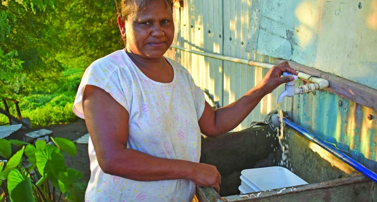 Family Braces For Water Shutdown In Nadi