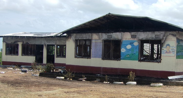 150 Students Affected After Fire Damages Classrooms