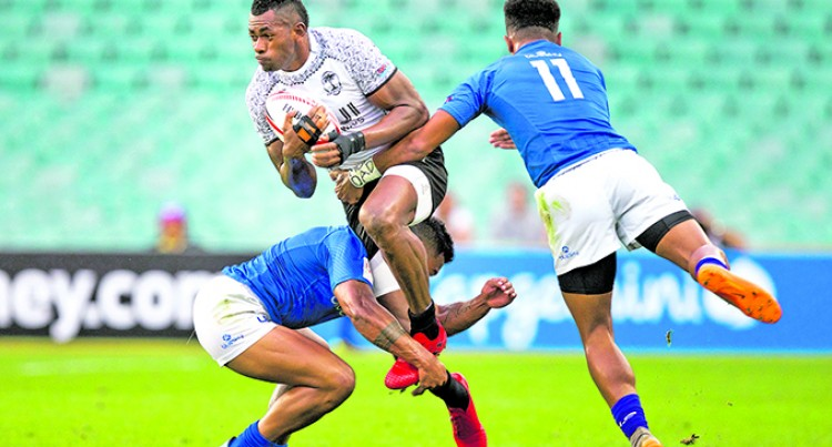 Fijians Run Over Samoa