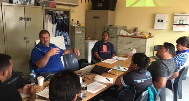 Basketball coaches attend Oz workshop