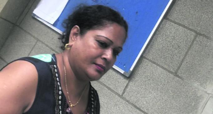 Purnima Singh outside the Suva court on January 12, 2018. Photo: Fonua Talei