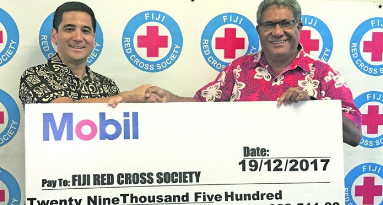 Exxon Mobile Gives Over $29k to Fiji Red Cross